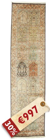 Kashmir pure silk carpet VEXG26