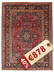 Mashad signed: Orfani carpet ABX325