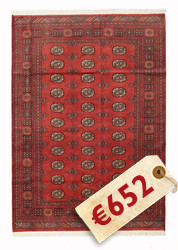 Pakistan Bokhara 2ply carpet RZZAE323