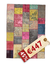 Patchwork carpet EXZR1345