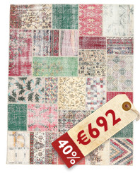 Patchwork carpet BHKZH103