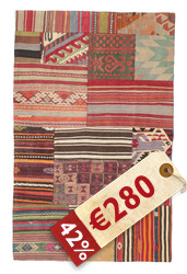 Kilim Patchwork carpet XCGQ131