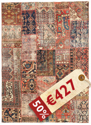 Patchwork carpet XVZE798