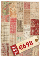 Patchwork carpet BHKP90