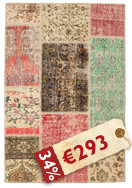 Patchwork carpet BHKP308