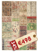 Patchwork carpet BHKP382
