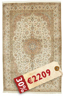 Kashmir pure silk carpet VEXG107