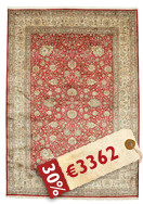 Kashmir pure silk carpet VEXG72