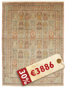 Kashmir pure silk carpet VEXG61