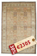 Kashmir pure silk carpet VEXG102
