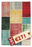 Patchwork carpet BHKN35