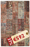 Patchwork carpet EXZO1148