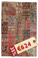 Patchwork carpet EXZO1174