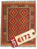Alfombra Kilim Afghan Old style VEXZS27