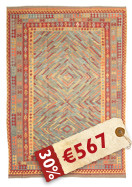 Tapis Kilim Afghan Old style ABCK1251