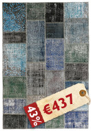 Patchwork carpet XVB77
