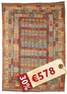 Alfombra Kilim Afghan Old style ABCK1428