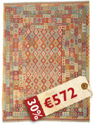 Kilim Afghan Old style carpet ABCK1429
