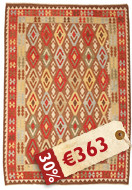 Alfombra Kilim Afghan Old style ABCK1387