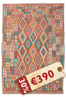 Alfombra Kilim Afghan Old style ABCK1232