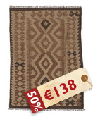 Alfombra Kilim Afghan Old style AKXZE43