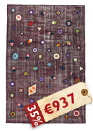 Tapis Colored Vintage Relief MPB39