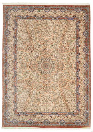 Qum silk carpet VAZZY9