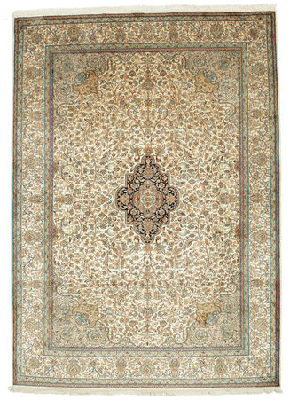 Kashmir pure silk carpet VEXG130