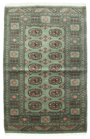 Pakistan Bokhara 3ply carpet RZZZK415