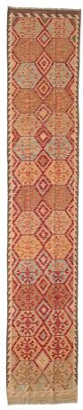 Kelim Afghan Old style-matto 72x387