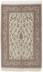 Isfahan silk warp signed: Abas Mansuri carpet HDP1103