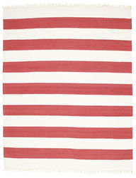 Cotton stripe - Red rug CVD4967