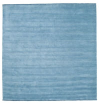 Handloom fringes - Light Blue carpet CVD5426
