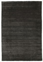 Handloom fringes - Black/Grey carpet CVD5470