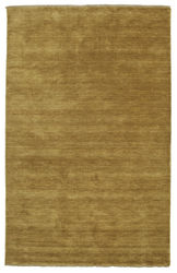 Handloom fringes - Olive Green carpet CVD5350