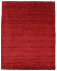 Handloom fringes - Dark Red carpet CVD5265