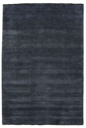 Handloom fringes - Dark Blue carpet CVD5453