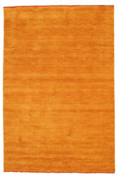 Handloom fringes - Orange carpet CVD5333