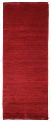 Handloom fringes - Dark Red carpet CVD5260