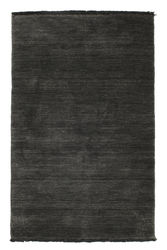 Handloom fringes - Black/Grey carpet CVD5482