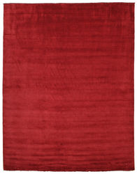 Handloom fringes - Dark Red carpet CVD5245