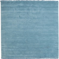 Handloom fringes - Light Blue carpet CVD5427
