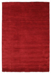Handloom fringes - Dark Red carpet CVD5259