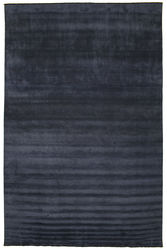 Handloom fringes - Dark Blue carpet CVD5441