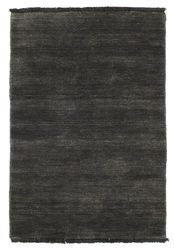 Handloom fringes - Black/Grey carpet CVD5483