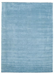 Handloom fringes - Light Blue carpet CVD5418