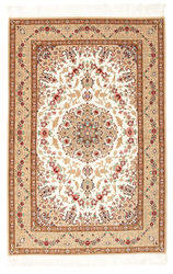Isfahan silk warp carpet RZZZA21