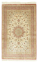 Qum silk signed: Ahmadi carpet BTC15