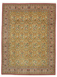 Qum Kork signed: Saveh hokmi carpet VEXN4