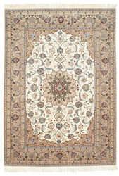Isfahan silk warp carpet GHD145